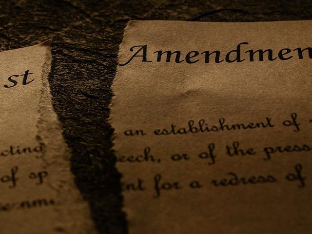 free speech first amendment (Image: Adobe stock)