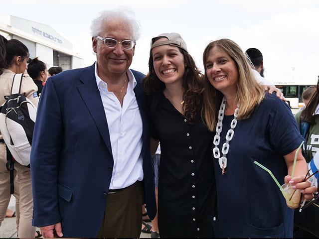 Amb. David Friedman and Wife, Tammy, Greet Daughter Talia on Aliyah Flight, CBN News Image