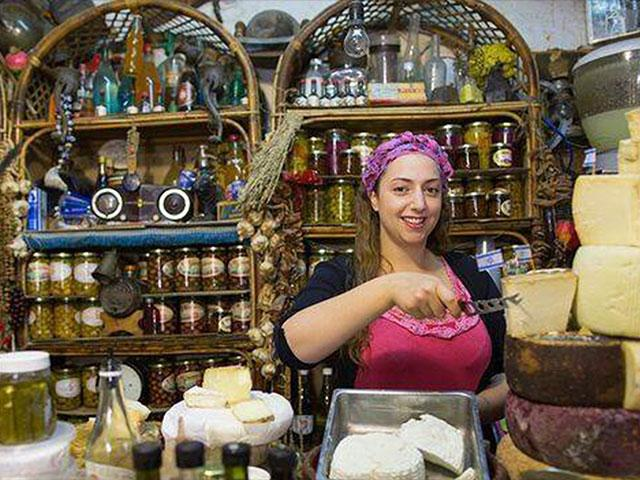 A shop in the Galilee, Photo Courtesy Israel Tourism Ministry