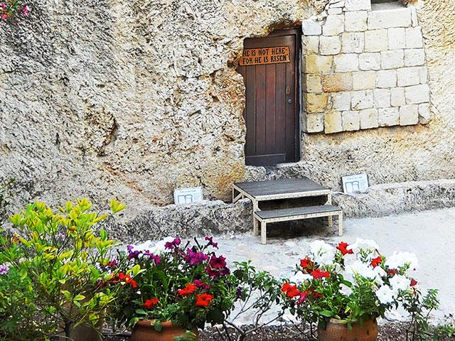 The Garden Tomb, Photo, CBN News, Jonathan Goff