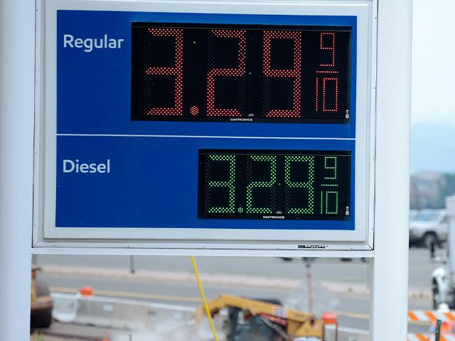 Drivers are facing pricier fill-ups as more people hit the road for work, travel and other activities that the virus pandemic halted. (AP Photo/David Zalubowski, File)