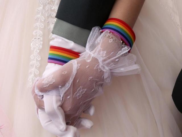 gay lgbt  boda, AP Chiang Ying - ying