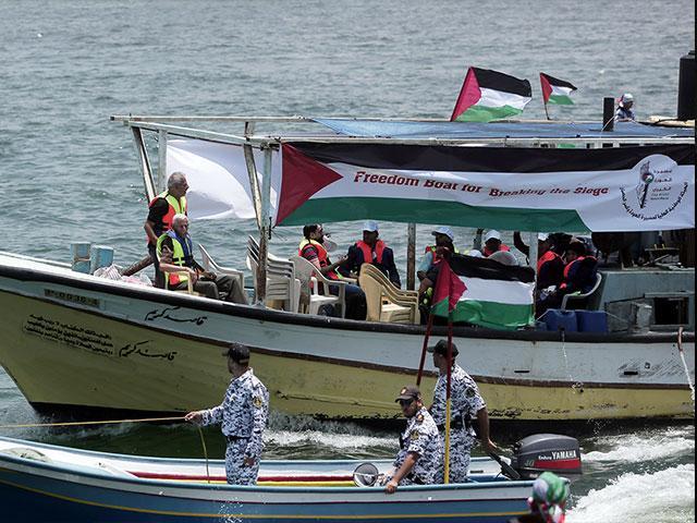 Gaza Flotilla, Photo, AP