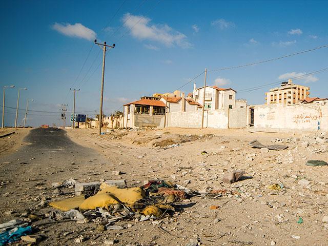Gaza Strip, Jonathan Goff