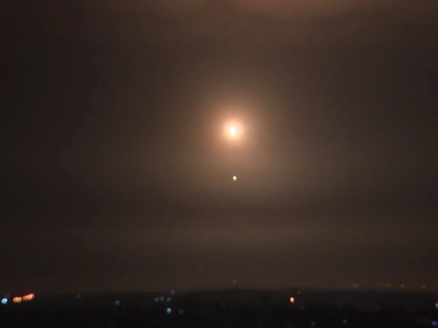 The view from Gaza as PIJ rockets are intercepted by Israel's Iron Dome System