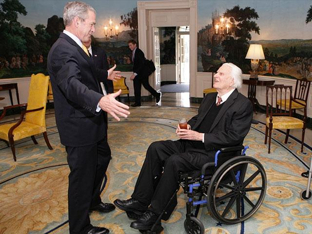 George W. Bush and Billy Graham