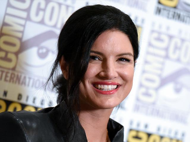 Gina Carano attends the 20th Century Fox press line on day 3 of Comic-Con International on Saturday, July 11, 2015, in San Diego. (Photo by Richard Shotwell/Invision/AP)