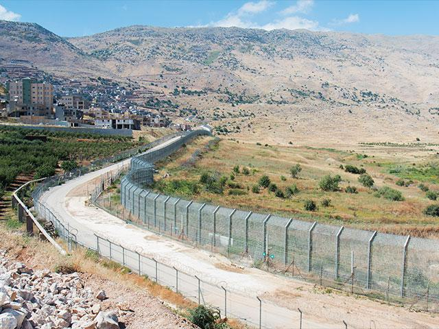Israel's Golan Heights at the Syrian Border, Photo, CBN News, Jonathan Goff