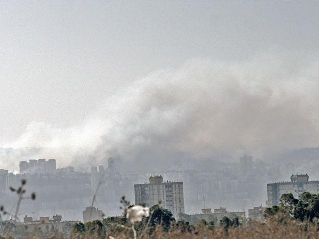 Fires in Haifa, Courtesy TPS, Shay Vaknin