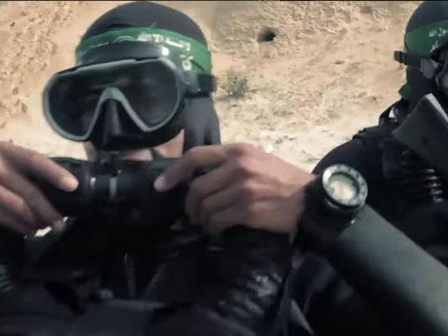 Hamas naval operatives, screen capture