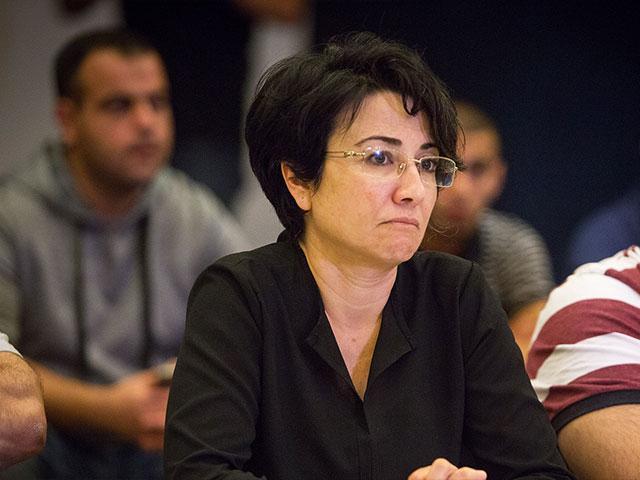 MK Hanin Zoabi, Photo, TPS, Adi Gefen