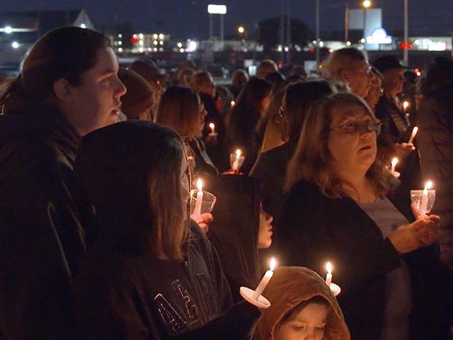 West Freeway Church of Christ prayer vigil