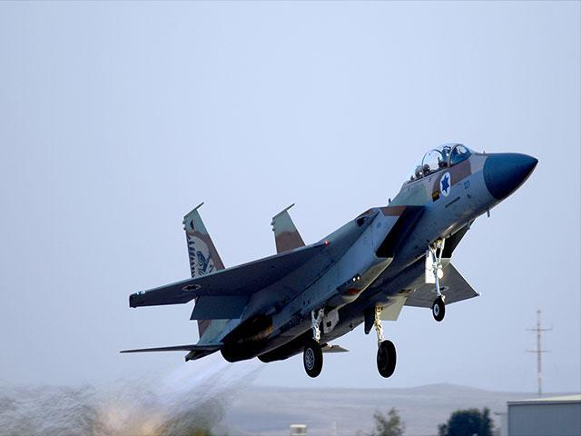 Israel Air Force F15 Eagle, Courtesy GPO, Haim Zach