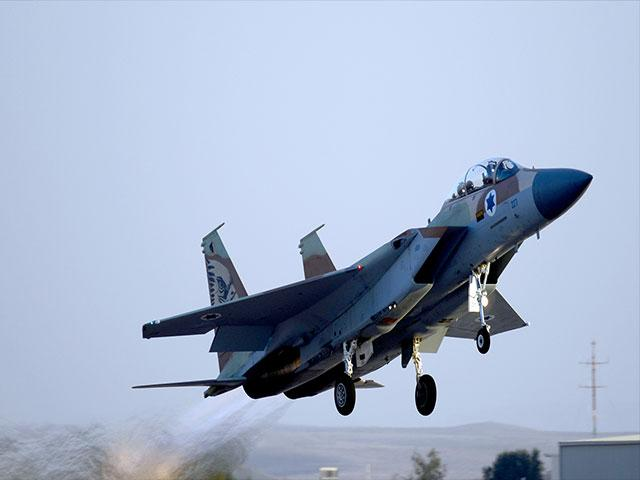 Israel Air Force F15 Eagle, Courtesy GPO, Haim Zach