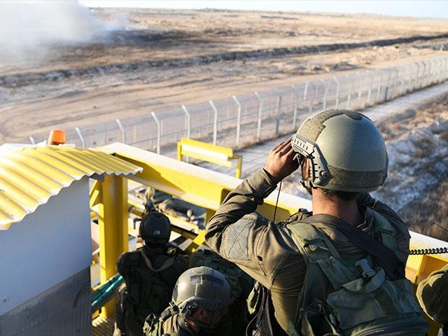 IDF Troops at the Gaza Border, Photo, IDF Spokesman's Office
