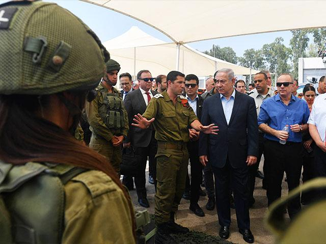 IDF Home Front Command Briefs Security-Diplomatic Cabinet on Gaza Border Situation, Photo, GPO, Kobi Gideon