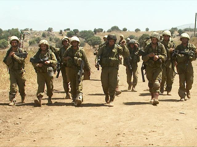 IDF troops Patrol Israel's border with Syria, Photo, CBN News