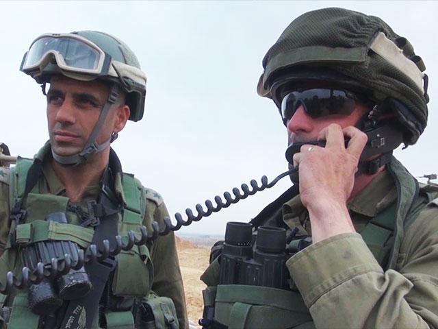 IDF Troops at the Gaza Border, Photo, GPO archive, Avi Ohayon