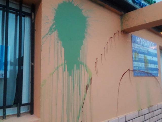 Vandalismo en las iglesias