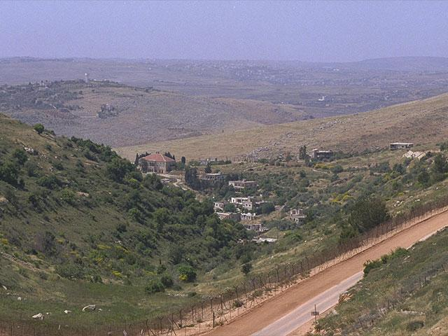 Border fence between Israel and Lebanon, Courtesy GPO, Moshe Milner