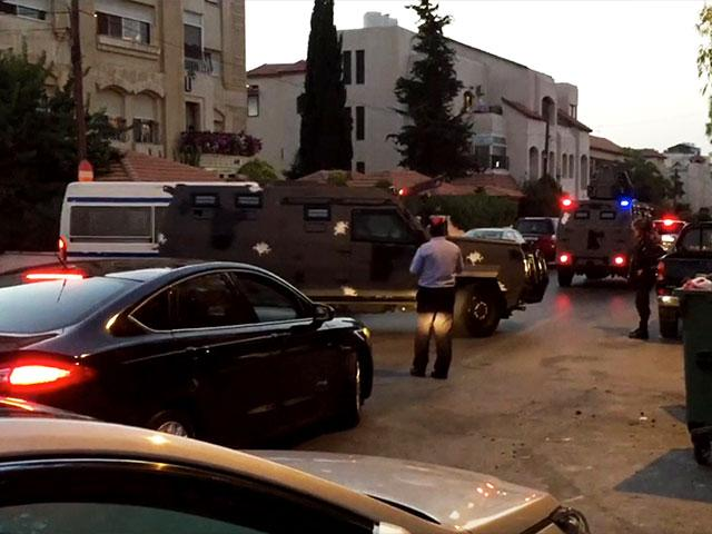 Attack at Israeli Embassy in Amman, Screen Capture