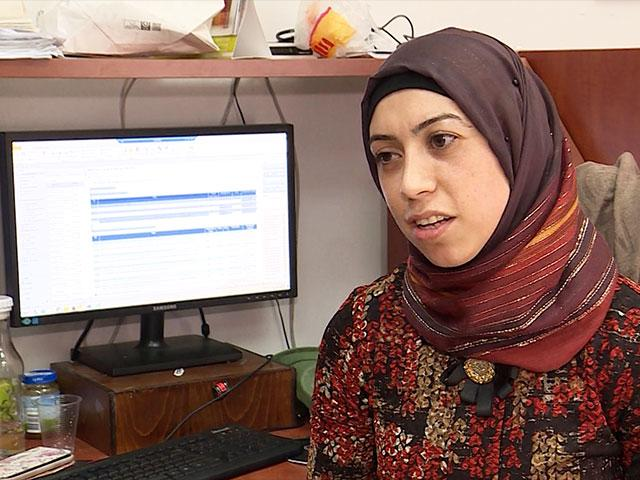 Israeli Arab at Work, Photo, CBN News