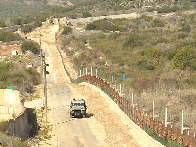 Patrolling Israel's Northern Border, Photo, CBN News