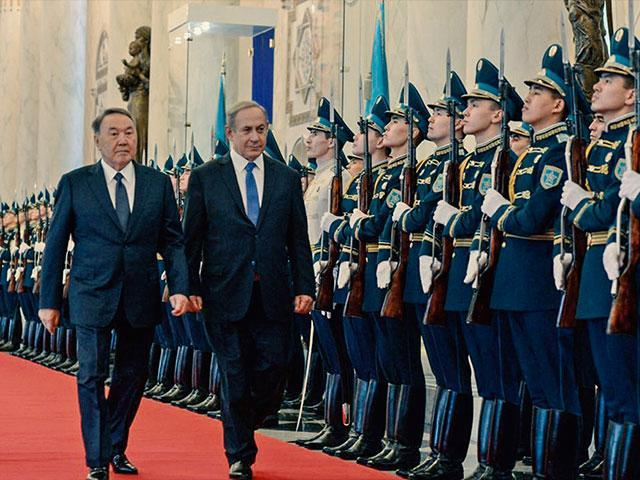 Netanyahu visita países musulmanes