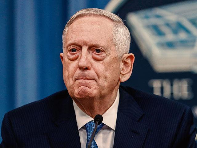 US Defense Secretary James Mattis, Photo AP