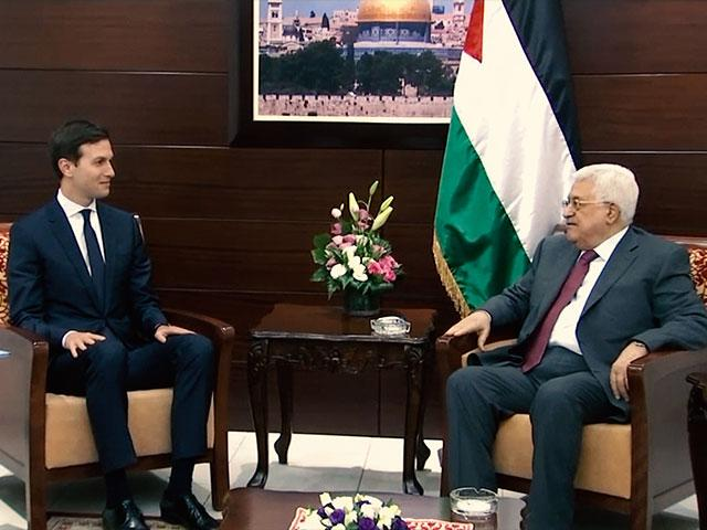 Senior Advisor Jared Kushner Meets with P.A. President Mahmoud Abbas, Photo, AP