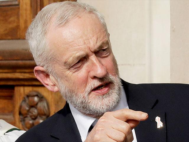 Britain Labor Party leader Jeremy Corbyn, Photo, AP