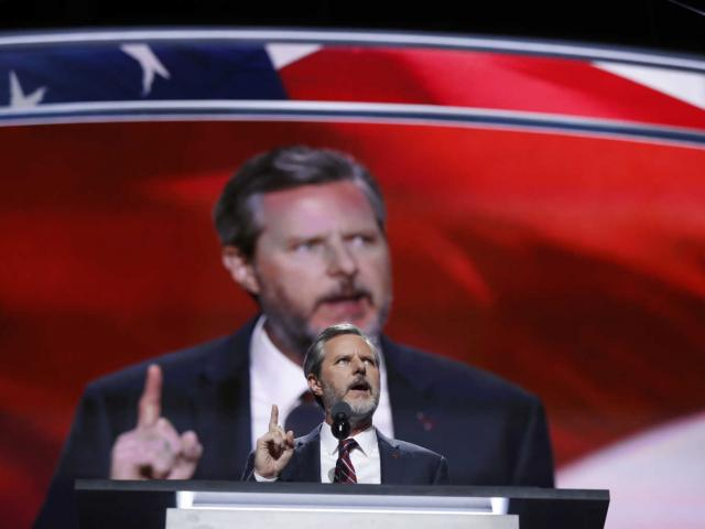 Jerry Falwell Jr. AP Photo/Carolyn Kaster