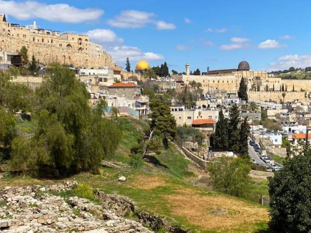 Ciudad vieja de Jerusalén, Crédito de la foto: CBN News