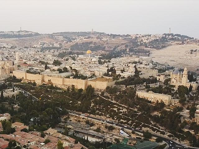 Jerusalem From the Sky, Jonathan Goff