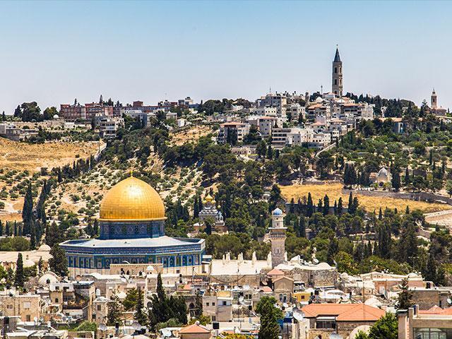 Monte del Templo en Jerusalén.