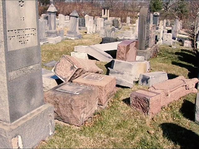 Jewish Cemetery in Philadelphia, Photo, AP