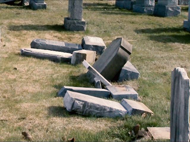 Vandalism at Jewish Cemetery in Philadelphia