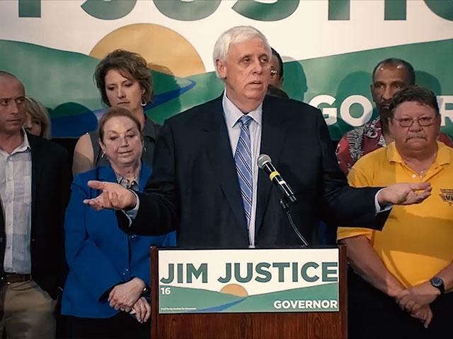Jim Justice, WV Governor-elec