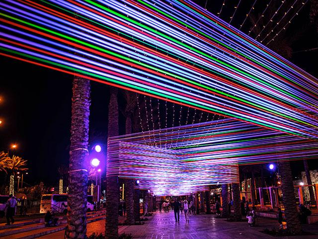 Annual Light Festival in Jerusalem's Old City, Photo, Erin Zimmerman