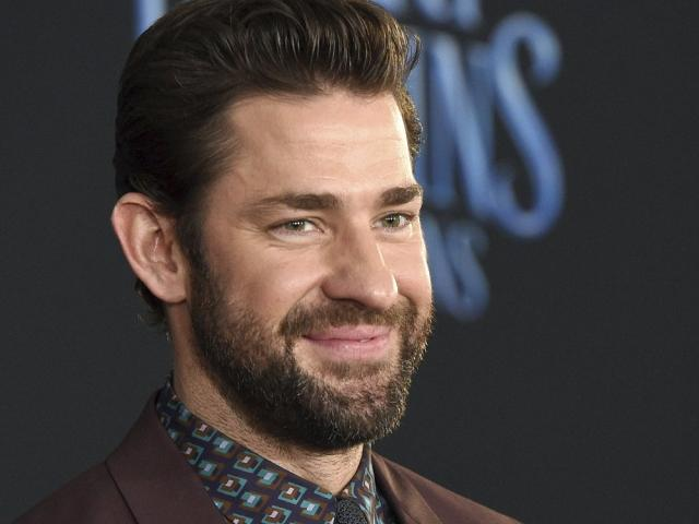 "In this Nov. 29, 2018 file photo, actor-writer-director John Krasinski poses at the premiere of the film ""Mary Poppins Returns."" (Photo by Chris Pizzello/Invision/AP, File)"