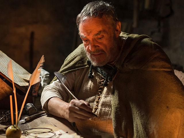 """John Rhys-Davies acts in the CBN Films production """"I Am Patrick"""""""