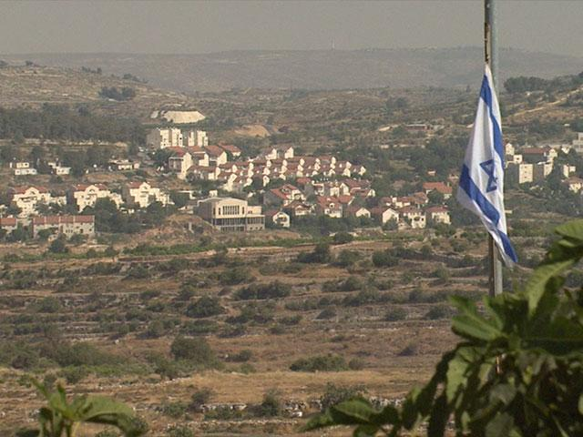 Jewish community in the 'West Bank' CBN News image