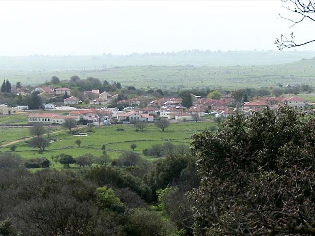Kibbutz Alonei Habashan in the Golan Heights, CBN News image