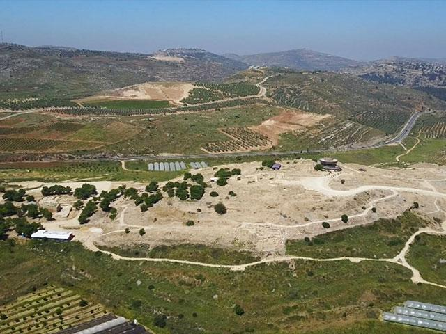 Location of Amichai, the new Samarian community replacing Amona, Photo, CBN News