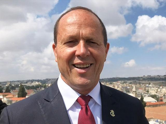 Outgoing Jerusalem Mayor Nir Barkat, Photo, CBN News