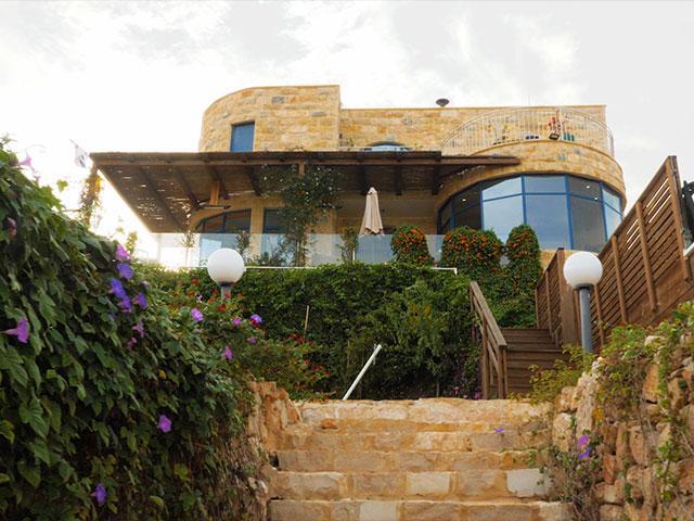 Villa Herodion, Photo, CBN News, Jonathan Goff