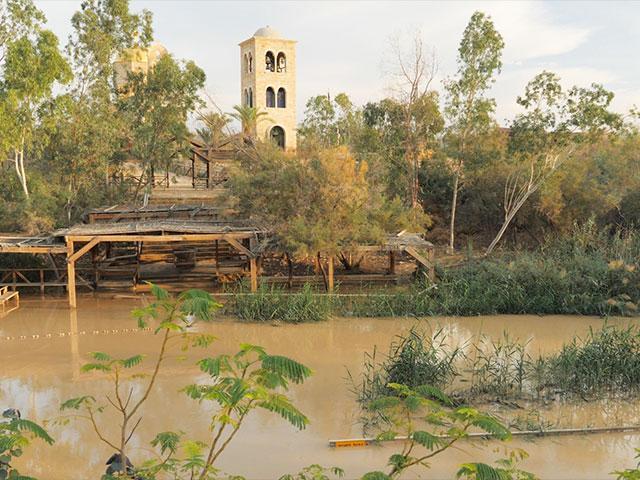 Qasr al Yahud, Baptismal Site on the Jordan River, Photo, CBN News