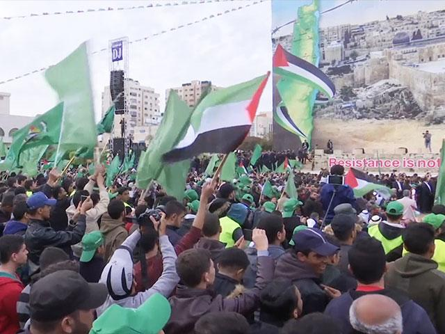 Hamas Rally in the Gaza Strip, Screen Capture, AP