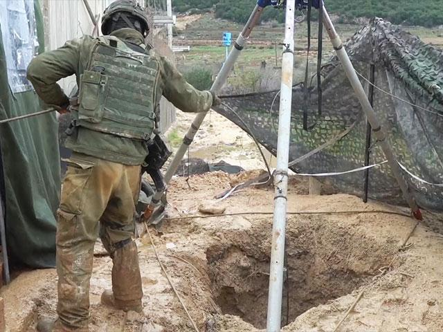 Israeli Troops Neutralizing Hezbollah Terror Tunnels, Photo, IDF
