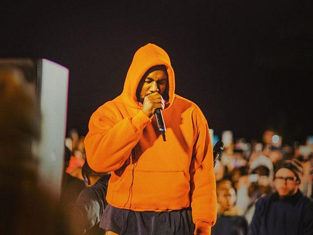 """Kanye West brings """"Sunday Service"""" to Baton Rouge. (Photo Courtesy: Jonathan Stockstill of Bethany Church)"""